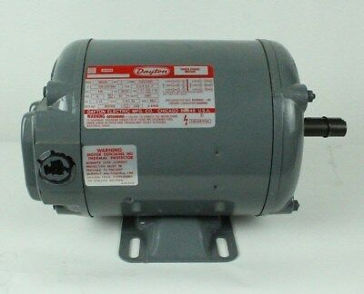 Dayton Electric Three Phase Motor 1HP USA MADE 3N012H 1725rpm Replacement