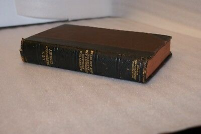 1904 Antique Book Nonfiction ICS Reference Library Mathematics Electricity 1