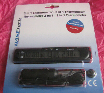 BASETech 3 in 1 Thermometer NEU!