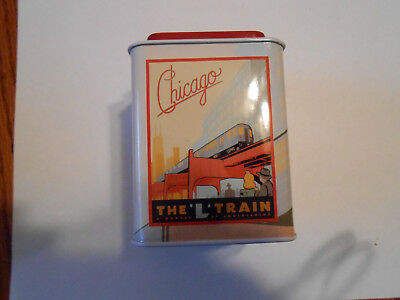 "Fannie May Candy ""Chicago - The L Train"" Collector Tin"