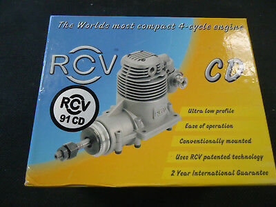 NEW -- RCV 91 CD Four Cycle RC Airplane Engine -