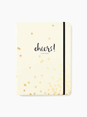 Kate Spade - Party Planning Book - Gold Confetti