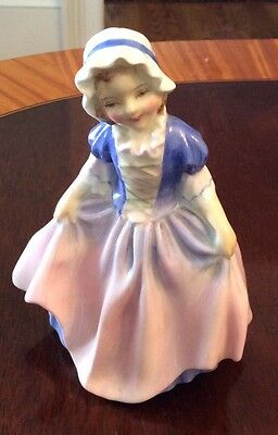 Royal Doulton Porcelain Figurine, Dinky Doo, Hn 1678, Bone China,mint Condition