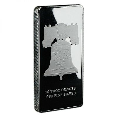 Republic Metals Corp - SD Bullion Exclusive Proclaim Liberty 10 oz Silver Bar