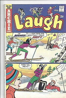 Laugh #288 (March 1975) Archie-Betty Veronica