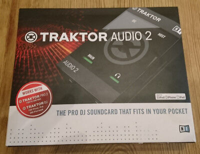 Traktor Audio 2 Native Instruments Audio Interface Premium DJ Soundcard