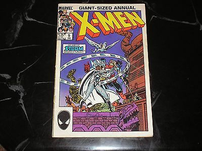 X-Men Giant Sized Annual #9 1985 There's No Place Like Home Good- Condition