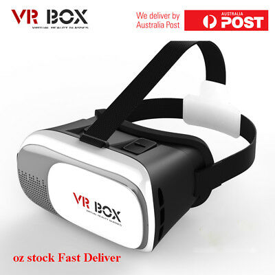 3D Virtual Reality Cardboard VR Glasses Box 2 Headset for IPhone Android Phone