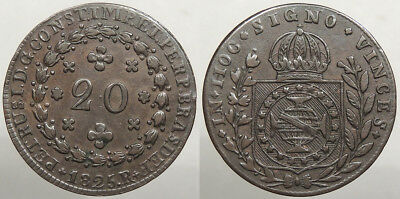 BRAZIL: 1825-R 20 res #WC74599