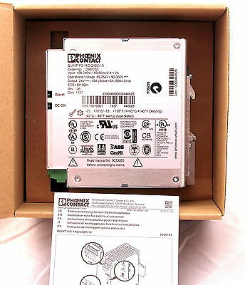 Phoenix Contact QUINT-PS/1AC/24DC/10 Power Supply 100-240VA 24VDC/10A