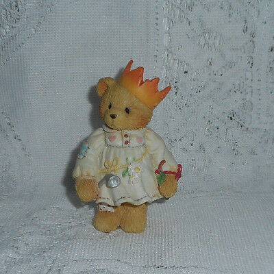 "Cherished Teddies Gloria  "" I Am The Ghost Of Christmas Past"" 1994 Enesco"