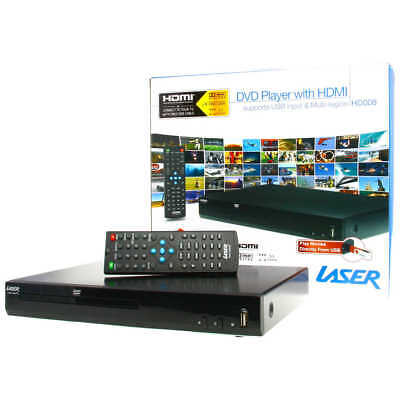 LASER DVD-HD008 DVD Player- HDMI, AV, USB, MULTI REGION