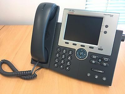Cisco CP-7945G VoIP 7945G Unified IP Phone Color Screen Gig PoE