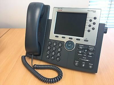 Cisco CP-7965G VoIP 7965G Unified IP Phone Color Screen Gig PoE