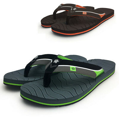 221af27595b New Summer Men s Casual Rubber Sport Beach Flip Flops Shoes Sandals Slippers
