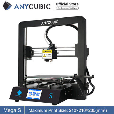 Anycubic I3 Mega 3D Printer Full Metal Frame Industrial Grade TFT Color Screen