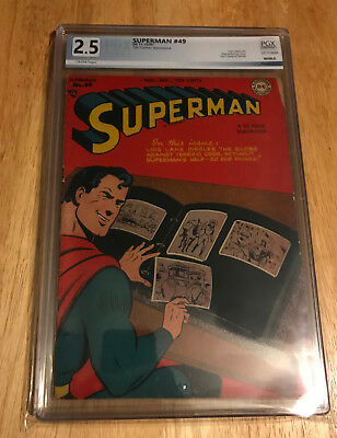 Dc Superman #49, PGX 2.5 Good+, Golden Age 1947, Toyman appearance