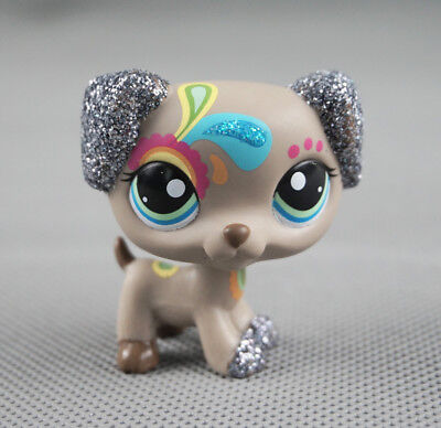 Littlest Pet Shop LPS #2344 Gift Sparkle Tattoo Dalmatian Dog Glitter Puppy Toys