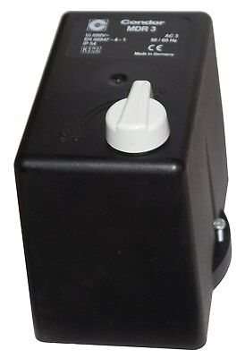 Condor Hood for Pressure Switch with a / from - Switch for Mdr 3