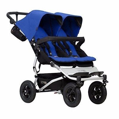 Mountain Buggy Duet V3 2017 - Marine Blue - BRAND NEW - IN BOX