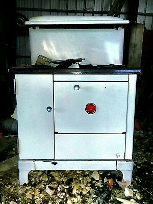 Antique Caste Iron Wood Burning Cook Stove Quick Meal Co