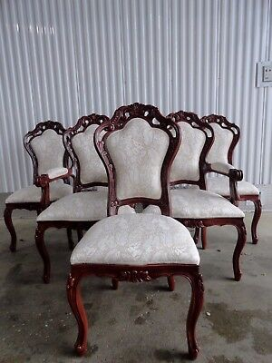 Polrey International Furnishing French  Provincial Reproductions  Dining Chairs