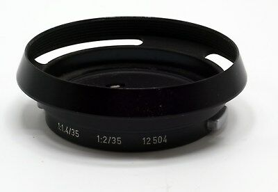 LEITZ 12404 HOOD FOR LEICA-M 35mm F/1.4 35mm F/2