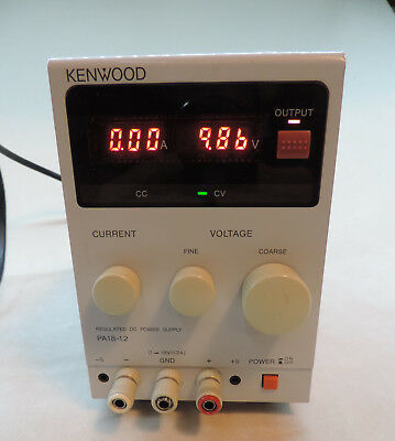 Kenwood PA18-1.2A Variable DC Power Supply