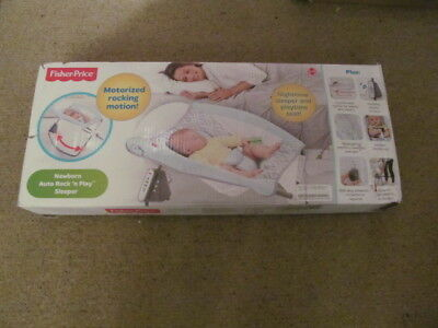 Fisher-Price Newborn  Auto Rock' N Play Sleeper Waterscape Chn08