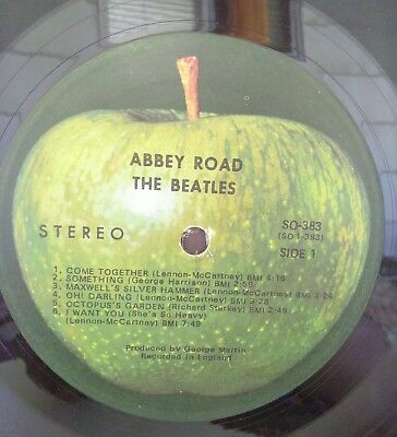 Abbey Road [LP] by Beatles (The) (Vinyl, Oct-1987, Capitol/EMI Records)