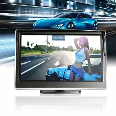5 Inch Car TFT LCD HD Digital 800*480 Screen Display Rear View Mirror Monitor F7