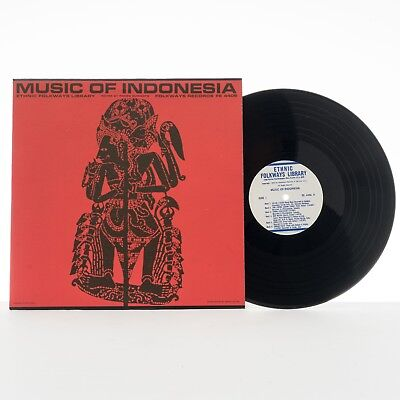 Music Of Indonesia - 1950 - Folkways Records - Vinyl LP, Compilation