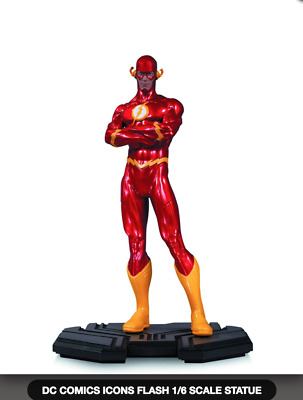 Dc Comics Icons Flash 1/6 Scale Statue (Factory Sealed, Brand New, Unopened)