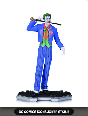 Dc Comics Icons Joker 1/6 Scale Statue (Factory Sealed, Brand New, Unopened)