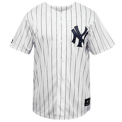 New York Yankees Majestic MLB Replica Baseball Jersey - White