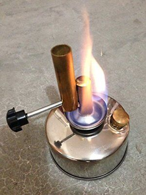 YaeTek  250ml Alcohol blast burner brass alcohol lamp blow torch (800-1000℃)
