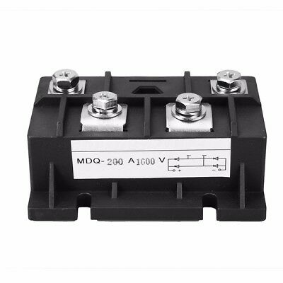MDQ-200A 200A 1600V Diode Module Single Phase MDQ Bridge Rectifier 4 Terminals
