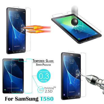 For Samsung Galaxy Tab A 2016 T580 10.1''  HD 9H Tempered Glass Screen Film