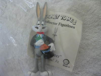 Vintage SHELL BUGS BUNNY Looney Tunes Toons UNOPENED NEW COLLECTIBLE Toy Figure