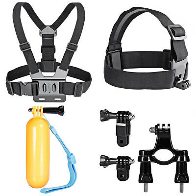 Camera Accessories Set Head Chest Harness Mount Float For GoPro Hero 1 2 3 4 5 6