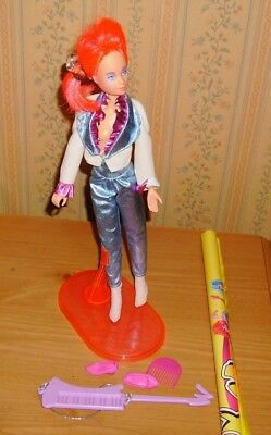 Jem KIMBER Of The Holograms Doll w box No Cassette Original opened Hasbro 1986