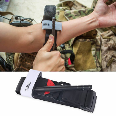 New Tourniquet Buckle First Aid Medical Tool For Emergency Injury Black Outdoor