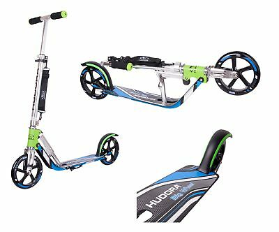 Hudora 14750/01 ROLLER BIG WHEEL 205 RX PRO LOW RIDER GRÜN BLAU