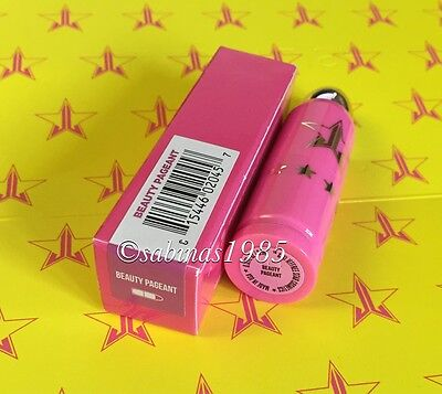 ♥ JEFFREE STAR Lip Ammunition Lippenstift BEAUTY PAGEANT Glitter Pink NEU Ovp ♥