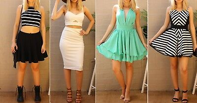 Brand New Size 10  6X Bulk Lot Women Outfit Evening Party Sexy Mixed Clothing