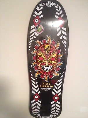 Powell Peralta Nicky Guerrero Mask Re-Issue Old School Skateboard Deck 10""