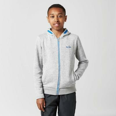 Grey Peter Storm Boys' Fred Ii Hoody Outdoor Clothing One Colour