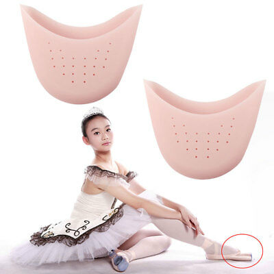 Silicone Gel Ballet Pointe Dance Shoe Pads Toe Cap Cover Protectors Breathable