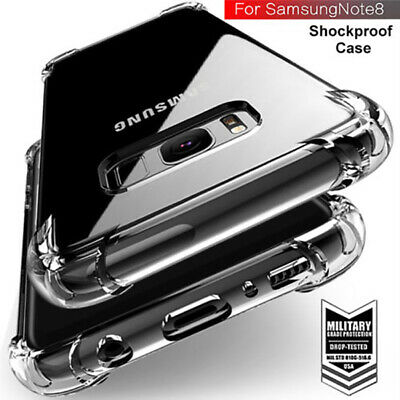 Hybrid Shockproof Soft Clear Case For Samsung Galaxy S9 Plus Phone Cover Note 8