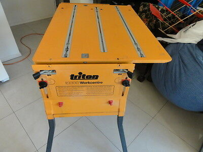 Triton 2000 Workcentre Bench And Bench Top Only No Accessories Price Reduced